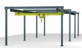 Freestanding Crane Structures