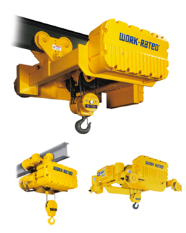 Acco Work Rated Wire Rope Hoist